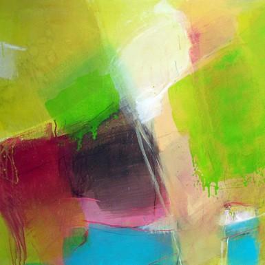 NEUE ZEITEN acryliques toiles