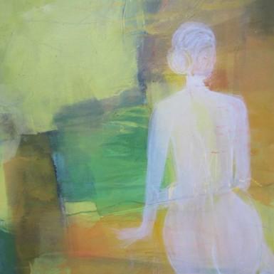 Diane acrylique sur toile 100x70cm