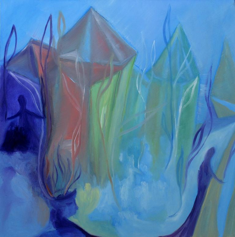 Mer de cristal_ 50x50cm